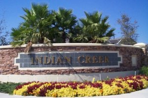 Entrance to Indian Creek